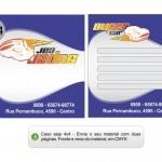 Criando sua arte para cartão duplo 4x0 - 4x1 - 4x4