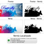 Criando sua arte para cartão mini 4x4 - Verniz Localizado