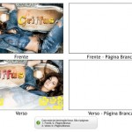 Criando a arte para postal 182x102mm