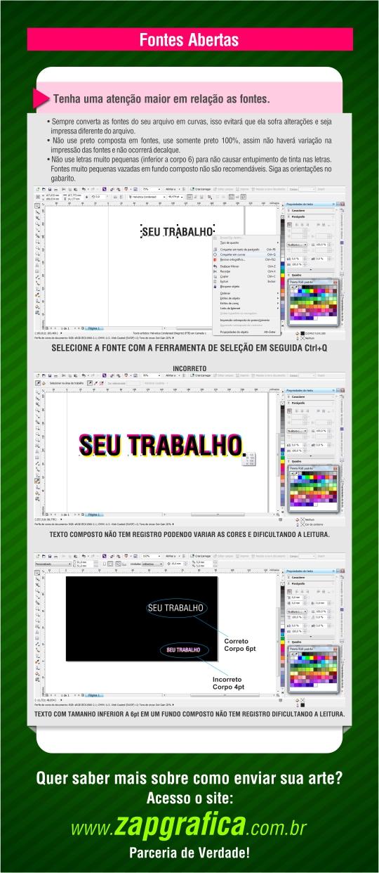 Dicas do zapinho_Fonte Aberta